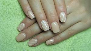 Clear Nail Designs With Flowers 55 Most Beautiful Beige Nail Art Design Ideas