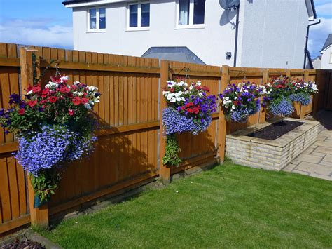 fence hanging planters of the rejoice the garden of westhill 26