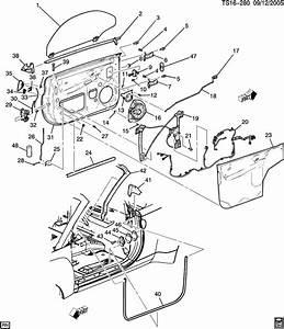 Chevrolet Trailblazer Cylinder Kit  Door Lock Cylinder