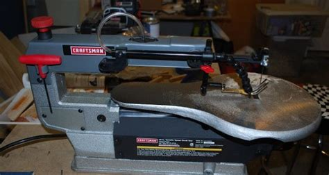 craftsman  variable speed scroll  model  review