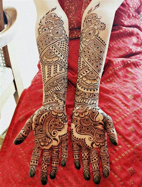 latest bridal henna mehndi designs art craft ideas