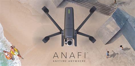 parrot anafi il nuovo drone  video  tascabile prezzo disponibilita