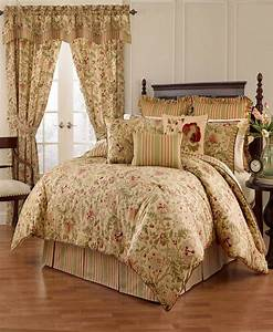 Waverly, Imperial, Dress, Porcelain, 4pc, Queen, Comforter, Set