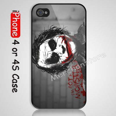 Cubes Cove Hardcase Iphone 4 the joker batman i am not a custom iphone 4 or 4s