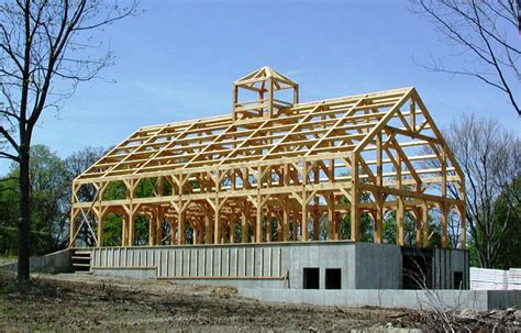 Timber Frame Roof Structures