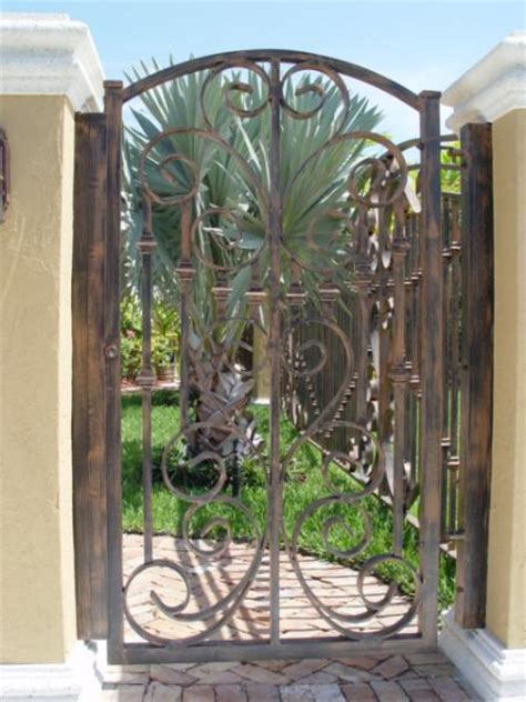decorative metal garden gates image decorative metal