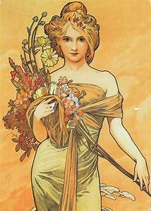 "My POSTCROSSING collection: ""Spring"" (1900), Alphonse ..."