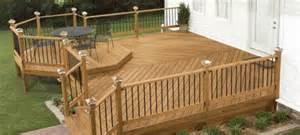 Home Depot Treated Deck Boards by Como Construir Una Terraza