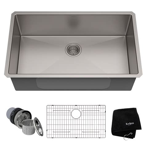 stainless steel undermount kitchen sinks single bowl stainless steel kitchen sinks kraususa