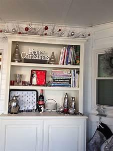 Christmas, Bookshelf, Display, The, Top