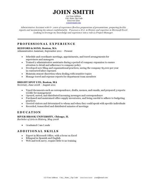 Resume Styles Templates by Expert Preferred Resume Templates Resume Genius