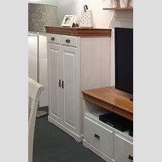 Vertiko 96x133x43cm, 2 Türen, 2 Schubladen, Kiefer Massiv
