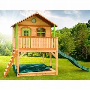 Cabane En Bois : cabane en bois enfant marc cabane enfant axi ~ Premium-room.com Idées de Décoration