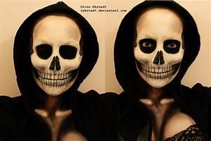 Skull Makeup by Lekstedt on DeviantArt