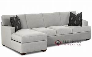 savvy lincoln chaise sectional sleeper sofa queen at With queen sofa bed with chaise