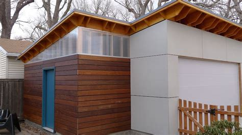 Mobile Garage Lighting by Garage Build Modern Shed Roof Screen Siding The