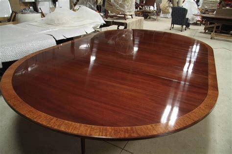 custom american     mahogany dining table