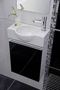 Meuble Pour Petite Salle De Bain : une petite salle de bains galerie photos d 39 article 3 11 ~ Melissatoandfro.com Idées de Décoration