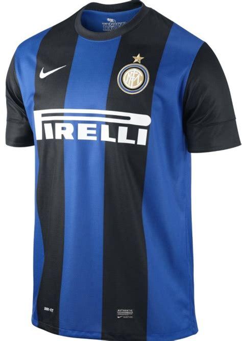 New Inter Milan Kits 12-13- Nike Inter Home Red Away Shirt ...