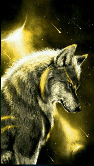 lightning wolf wolf painting wolf artwork wolf wallpaper