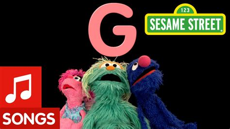 elmo letter of the day song sesame letter g letter of the day