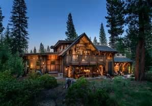 luxury custom home plans stunning cabin retreat brings rustic texan charm to lake tahoe