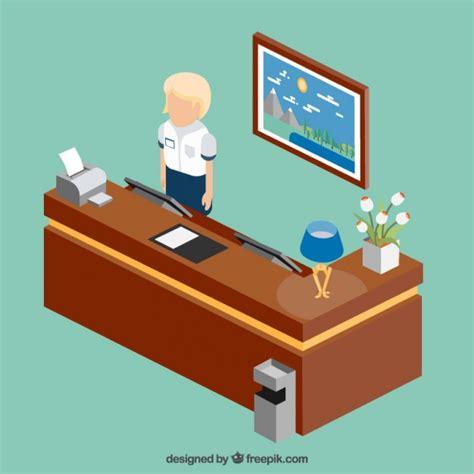 commis bureau avant commis de bureau télécharger des vecteurs gratuitement