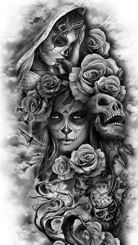 Pin by Jeanette Linthicum on Tattoos | Pinterest | Tatouage, Tatouage bras and Tatouage santa muerte