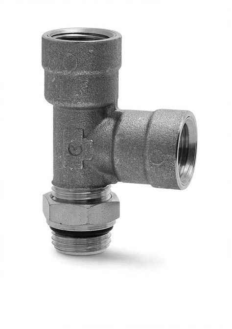 D2072 Male Female Tee Air Brake Fittings - Camozzi