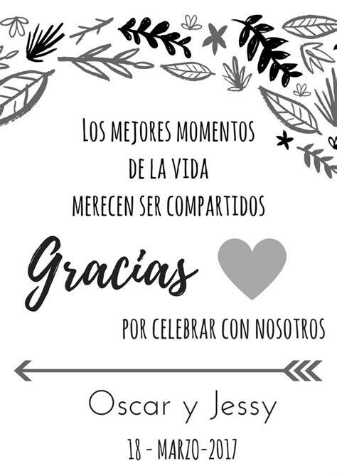 tarjeta de agradecimientos más de 25 ideas increíbles sobre agradecimientos de boda