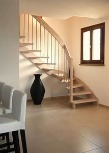 Garde Corp Escalier : 8 best images about escaliers bois on pinterest space ~ Melissatoandfro.com Idées de Décoration