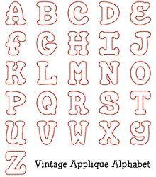 HD wallpapers free printable alphabet applique letters