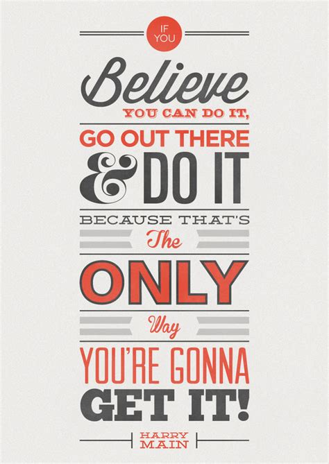 25 inspirational typography design posters with quotes