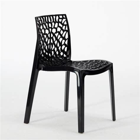 chaise en polypropylène plastic chair kitchen polypropylene stacking garden