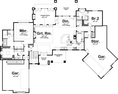 story french country house plan mcgreggor