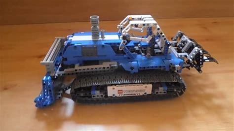 lego technic alternative bulldozer lego technic 42042 alternative model my design
