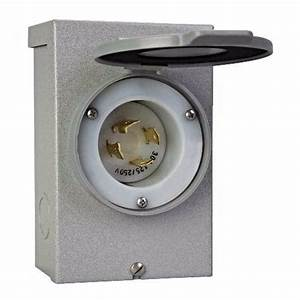 Reliance Controls Pb30 30 Amp Power Inlet Box For Inlet