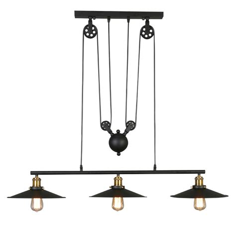 pulley pendant lights kitchen buy pulley lighting fixtures from china 4443
