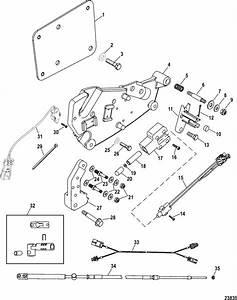 Mercruiser Race Engine  U0026 Drive 700 Sci Shift Plate