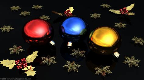Christmas Ornaments Wallpapers 1600x900