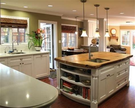 cuisine ouverte ilot central cuisine ouverte avec ilot central deco maison moderne