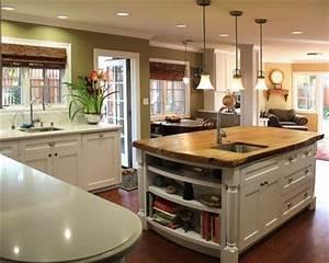 modele de cuisine americaine avec ilot central cuisine With cuisine americaine ilot central
