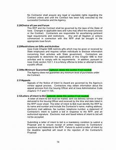 rfp template word document With procurement document template