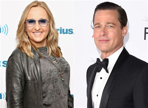 melissa etheridge sides  team pitt  angelina jolie