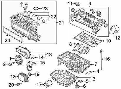 Jetta Parts Engine Volkswagen Oil Gasket Cooler