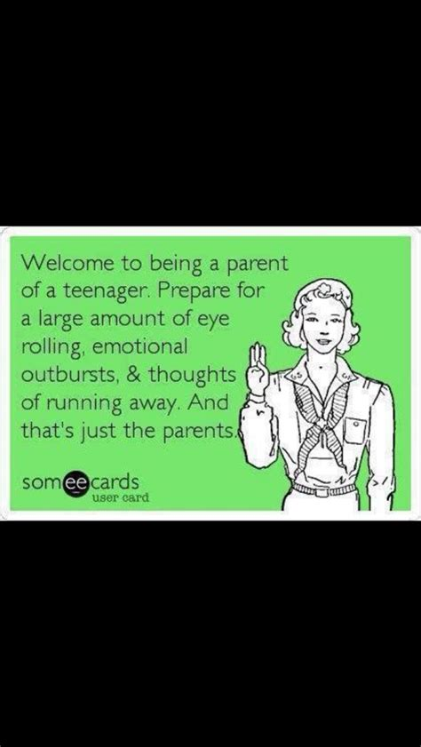dealing with teenagers