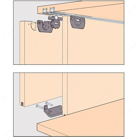sliding cabinet door systems eku clipo 15 h ms by pass sliding system for 2 cabinet