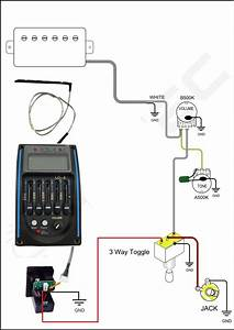 Wiring A Piezo Pickup Preamp System And A Magnetic Pickup
