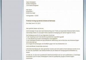 Gründe Für Fristlose Kündigung Mieter : gratis vorlagen tipps zum arbeitsvertrag k ndigen ~ Lizthompson.info Haus und Dekorationen