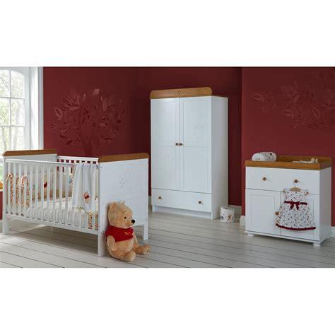 obaby winnie the pooh 3 nursery furniture set
